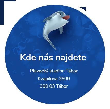 Adresa Plavecké školy Tábor